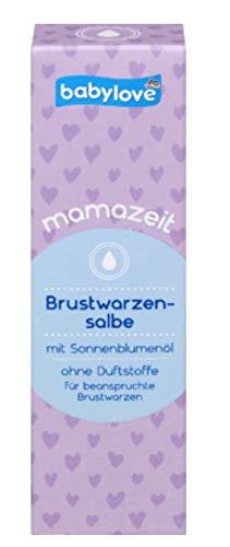 Babylove mamazeit Brustwarzensalbe, 30 ml