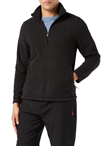 Regatta Men's Micro Full Zip Fleece Jacket, Black (Black), Medium (Manufacturer Size:M)