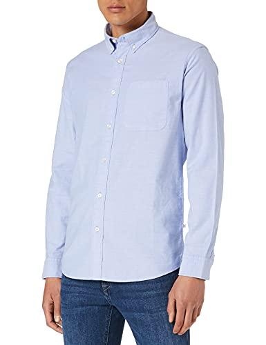 SELECTED HOMME Male Hemd Bio-Baumwolle Oxford MLight Blue