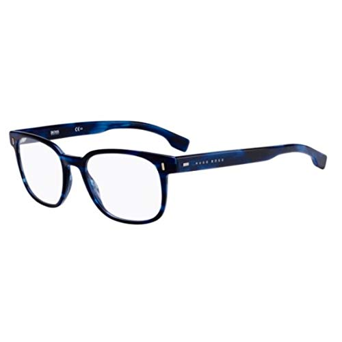Hugo Boss Boss 0958 38I 52 Gafas de sol, Azul (Blue Horn), Hombre