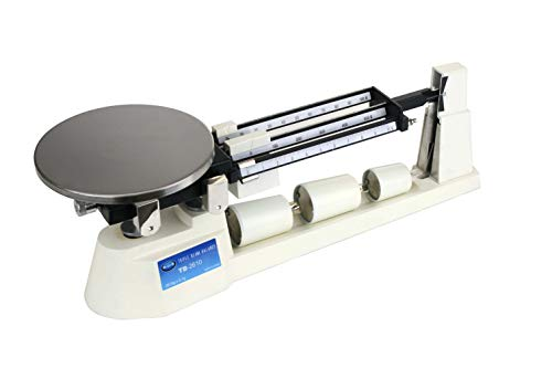 Triple Beam Scale, Gram Scale, Mechanical Scale for Science or Cooking, AMW-TB-2610