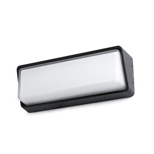 Faro Barcelona 71537 HALF LED Lampe applique noire