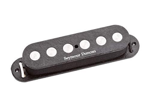 Seymour Duncan ssl-4-rwrp serie Simple quarter-pound Flat Strat sin tapa Micro para guitarra eléctrica, color negro