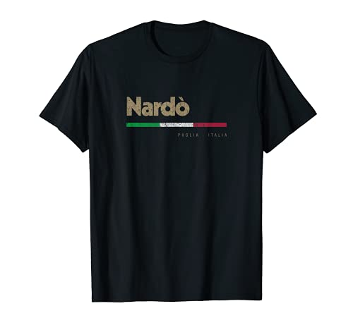 Nardò Drapeau italien rétro T-Shirt