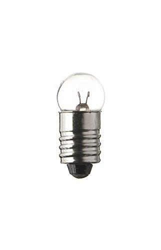 SPAHN-10 Stück Glühlampe 12V 250mA 3W E10 11x24mm Glühbirne Lampe Birne 12Volt 250mA 3Watt neu 10er Pack