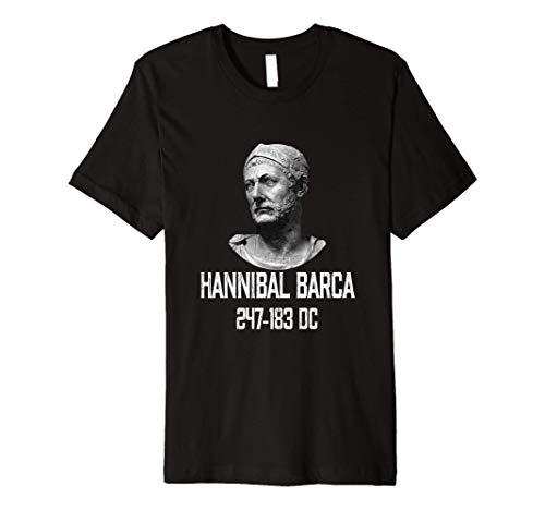 Hannibal Barca 247-183 BC The Greatest Carthage General Premium T-Shirt