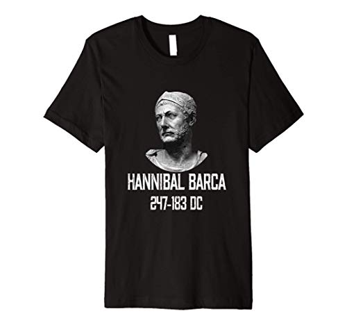 Hannibal Barca 247-183 BC The Greatest Carthage General Premium T-Shirt