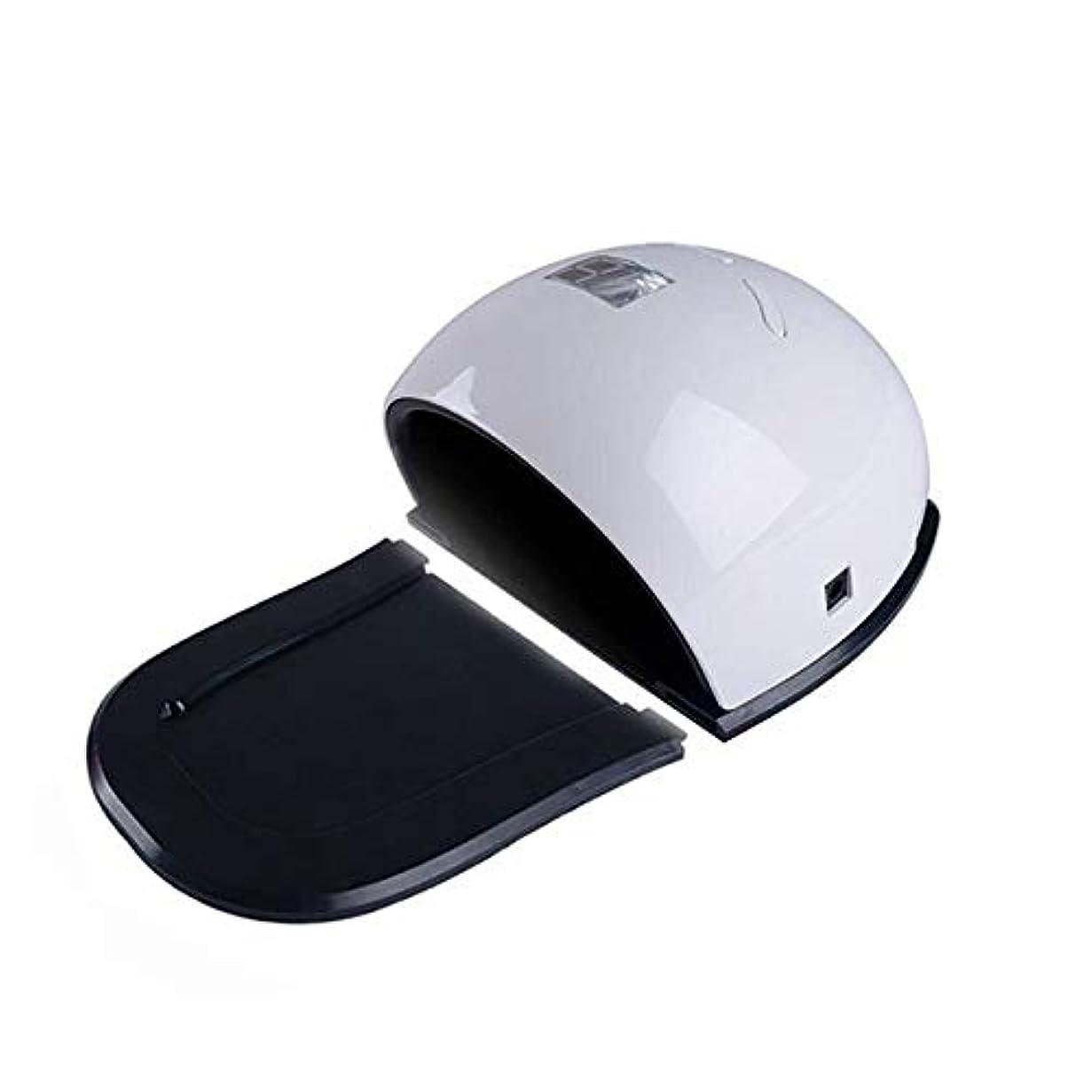 条約酔っ払い花束3タイマー、LCDディスプレイ、取り外し可能なベース付きジェルポリッシュ用UV LEDネイルドライヤー