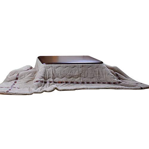 Tische Kaffeetische Kotatsu Tatami Couchtisch Home Heiztischs Multifunktions-Herd Wohnzimmer Schlafzimmer Heiztischs Beistelltische (Color : Gray, Size : 80 * 120cm)