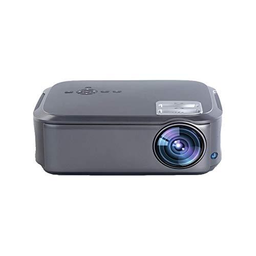 SHUNFENG-EU Proyector WiFi, Full HD 1920 * 1080P Suport AC3 4K Video en línea Android 10 Smart Video LED Proyector Proyector para el Cine en casa.