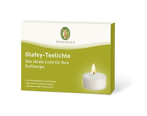 Primavera Glafey Teelichte ohne Napf 12-er Packung