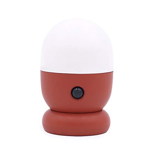 MUID Sensor De Movimiento Luz De Noche Led, Interior Decorativo, Pared, Escaleras, Lámpara De Baño (Rojo)