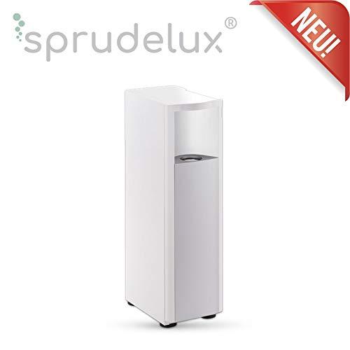 SPRUDELUX Unterschrank für das Auftisch-Trinkwassersystem Blue Diamond und RED Diamond 2.0 und 3.0 Weiß/Schwarz Profi-Wassersprudler für den Privathaushalt. Spritziges Sprudelwasser (Schwarz)