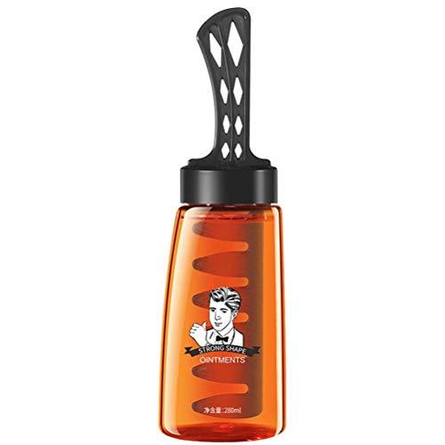 POXIAO Crema de Peinado en Gel 2 en 1 para Hombres 2 en 1 de 280 ml para cabellos Bien cuidados
