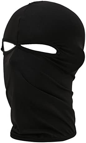 Atmungsaktive Leichte Gesichtsmaske Aus Lycra Stoff Für Das Ganze Gesicht Für Radsport Von Xiabing Schwarz Bekleidung