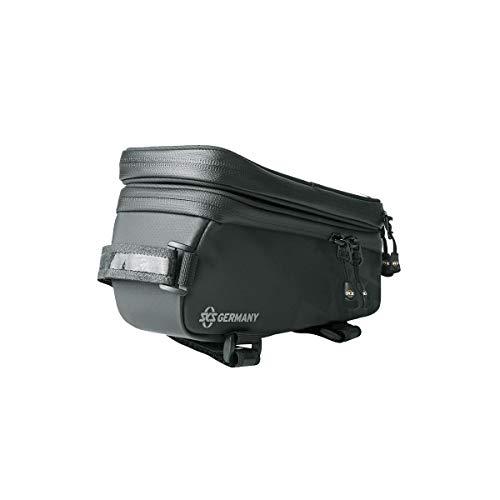 SKS Unisex– Erwachsene Explorer Smart Packtasche, schwarz, 1size