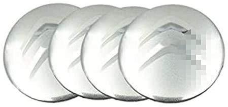 4 Cubiertas Centrales Llanta para Citroen DS3 DS4 DS6 C2 C3 C4 C4l C5, ProteccióN Con Logotipo Prueba Agua Polvo Con Buje Rueda Accesorios Partes