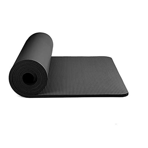ZZRTEC Alfombra Fitness,TPE Esterilla Deporte Antideslizante Y Esterilla De Yoga, Adecuada para Yoga, Pilates, AeróBic Y Gimnasia (183 × 61 × 1,0 Cm)