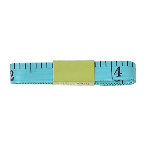 Qxinjinx Cinta métrica Centímetro de Cinta Suave Herramientas de Bricolaje 150 cm / 60'Cuerpo de medición de la Regla de Costura Cinta métrica Cinta Suave