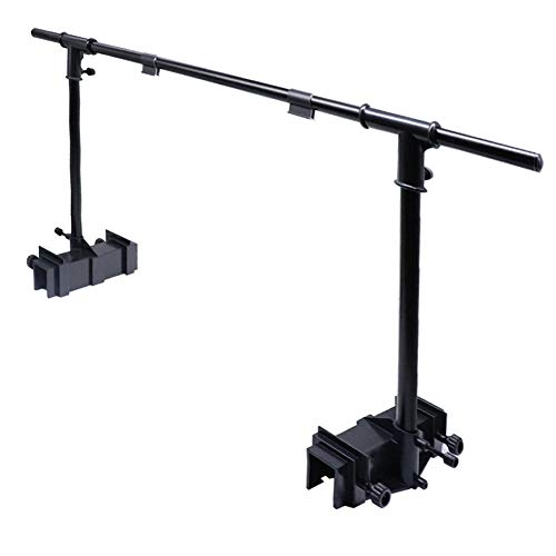 Aolyty 48 inch Aquarium Tank Bracket Hanging Kit for Lighting Fixture Hanging Stand Holder for Fish Tank Plant Lamp Suspension System Kit (48'')