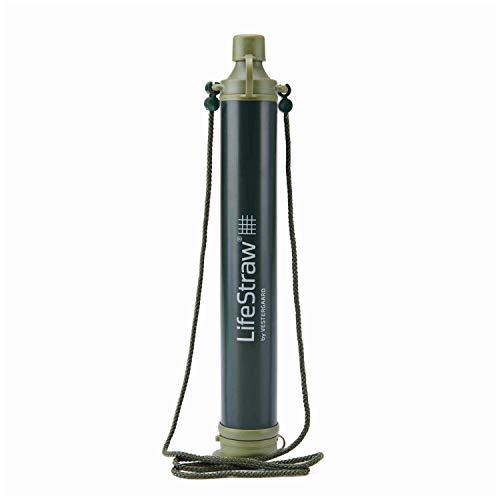 LifeStraw Personal Wasserfilter-Trinkhalm für Outdoor, Wandern versch. Farben Grün