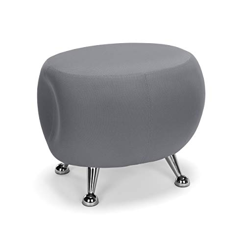 OFM Core Collection Jupiter Series Fabric Ball Stool, in Gray