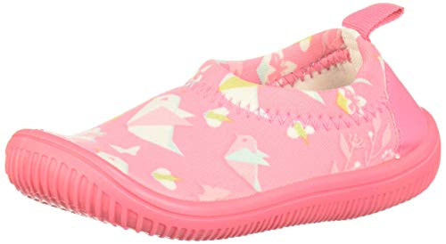 JAN & JUL Toddler Girl's Cute Play Shoes (Origami, US Size 6)