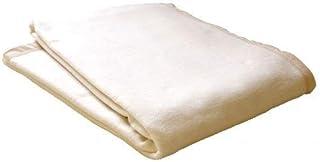 西川 綿毛布 (2NY0901) S シングルサイズ 140×190cm 無染色 ナチュラルカラー ブランケット コットンケット タオルケット ウォッシャブル 洗える 洗濯可能