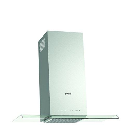 Gorenje WHGC 936 S4X Kamin-Dunstabzugshaube/61,3 kWh/90 cm/SmartCurve/LED Beleuchtung/PowerBoost/Anti-Fingerprint-Beschichtung/edelstahl