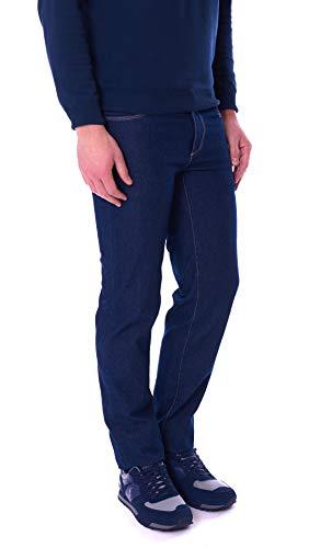 Trussardi Jeans Jeans Uomo 370 Close Blu 52J00000-1T00607-A001 - Blu, 34/48