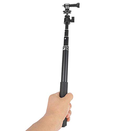 Selfie Stick Tripod, uitschuifbare Handheld selfie Stick Tripod Kit, lichtgewicht statief 360 graden draaien for Smart Phone Action Camera LMMS