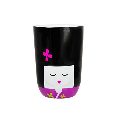 QDO - Tazza Termica Kokeshi, Colore: Rosa