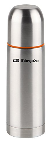 Orbegozo TRL 260 Termo líquido, inox, 250 ml, Negro