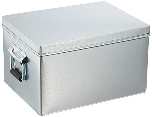 無印良品 トタンボックス・フタ式・小 約幅20×奥行26×高さ15cm 61417707
