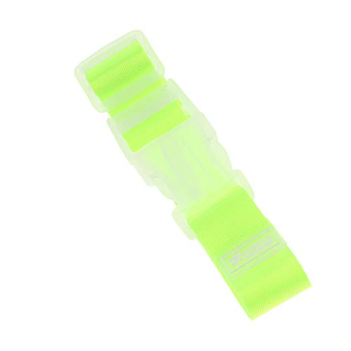 B Baosity Add a Bag Luggage Strap Travel Luggage Suitcase Adjustable Belt Attachment Connect Your luggages Together - Green