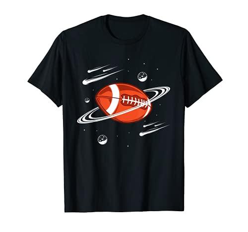 American Football Planet Vintage Rugby Ball Football Trikot T-Shirt
