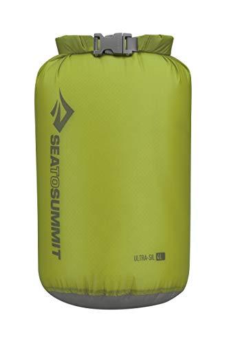 Sea to Summit Ultra-SIL Dry Sack-4 litros Saco Montañismo, Alpinismo y Trekking, Adultos Unisex, Verde (Green), Talla Única