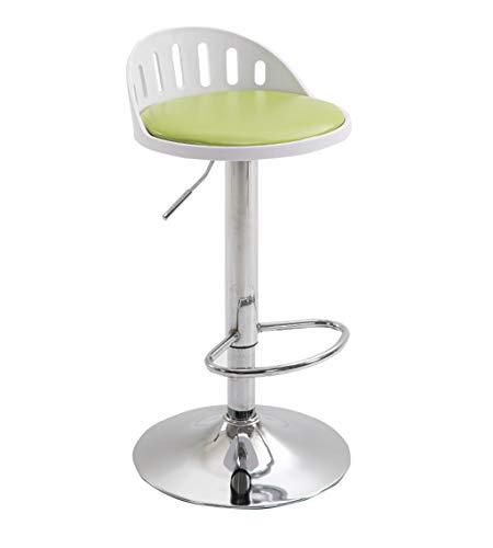 HWH Tourner Tabouret de dossier, chaise de bar Art de fer Télésiège Ménage salon de coiffure restaurant Café Tabouret haut 60-80CM Divers (Couleur : H)