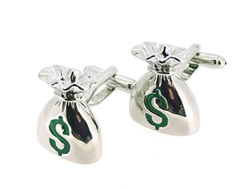 Gemelolandia   Gemelos para Camisa Bolsa de Dinero con Símbolo Dolar en...
