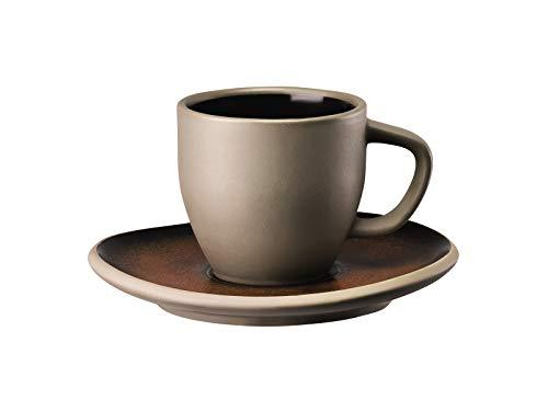 Rosenthal 21540-405252-64715 Junto Bronze Espressotasse 2tlg. (1 Obertasse/1 Untertasse)