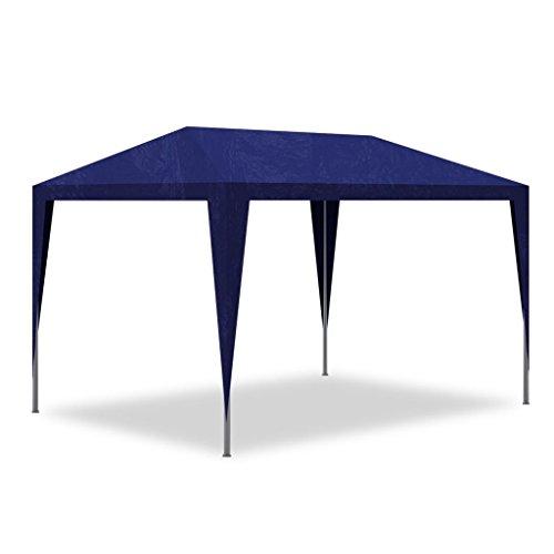 Lingjiushopping Pavillon-Garten Stahlrohr-Zelt R ¨ ¦ hinzugef Chapiteau blau Rahmen: Stahl Rohrmotor