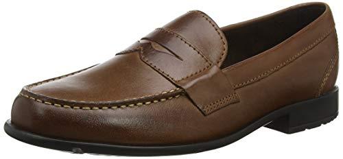 Rockport Classic Loafer Penny, Mocassins Homme, (Dark Brown 002), EU 41 EU