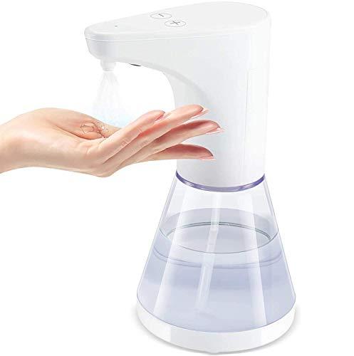 ELTD Automatisch Desinfektionsspender Automatisch Sprühspender mit Sensor Elektrischer Seifenspender für Küchen und Badezimmer Waschraum/öffentlicher, Nicht für Gel verwenden,480ml