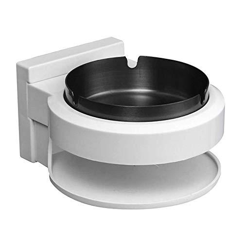 LSS Wand-Badezimmer-Aschenbecher, abgehängter Aschenbecher mit Saugnapf-Toilette, abnehmbar und leicht zu reinigen, geeignet für Badezimmer, Küche und Bar