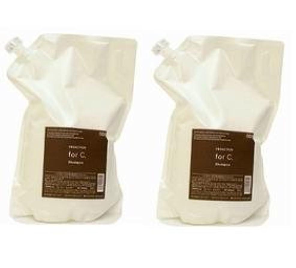 水っぽい塩辛い借りているナンバースリー プロアクション フォーシー for.Cシャンプー3000ml(業務?詰替用)×2本セット