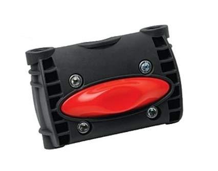 P4B   Halterung für Fahrrad Kindersitz - Rahmenbefestigung hinten   Rohrdurchmesser 28-40 mm   Fahrradkindersitz - Zweithalterung