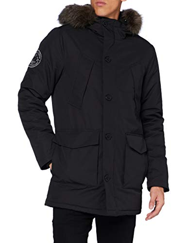 Superdry Everest Parka, Noir, S Homme