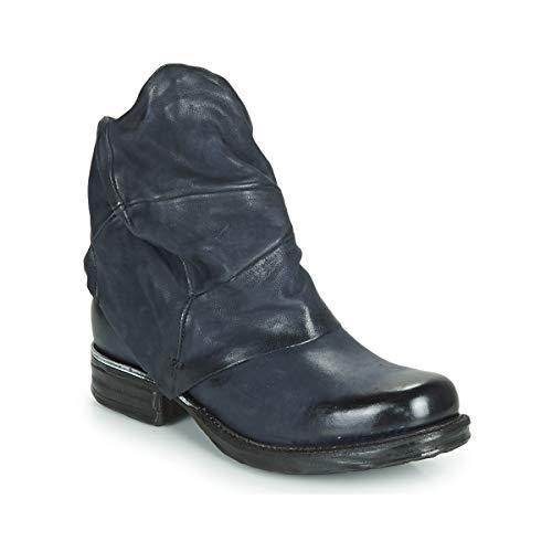 airstep / a.s.98 Saint Metal Stiefelletten/Boots Damen Blau - 39 - Boots Shoes