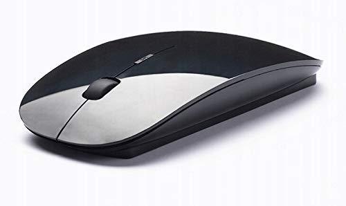 MVTECH Ultra Thin Wireless Mouse (Black) -1000 dpi, Ergonomic Design & Comfortable Shape – for Office & Home Use