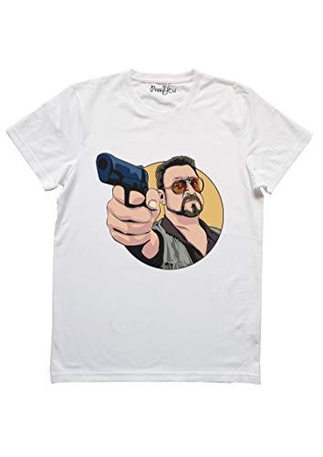 PressYou T-Shirt Il Grande Lebowski, M-Uomo